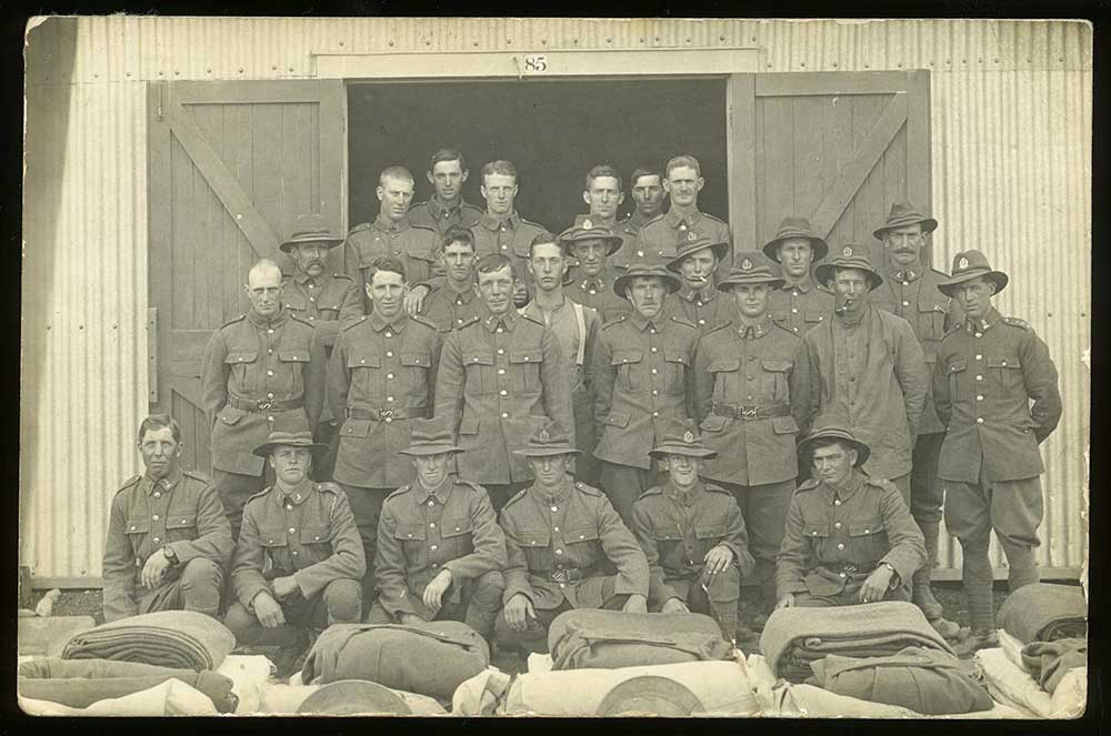 Reinforcements, Trentham Military Camp