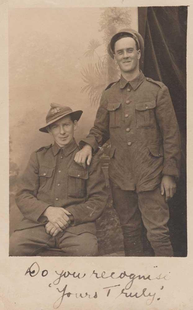 Thomas Kennedy (left) and David Ferguson