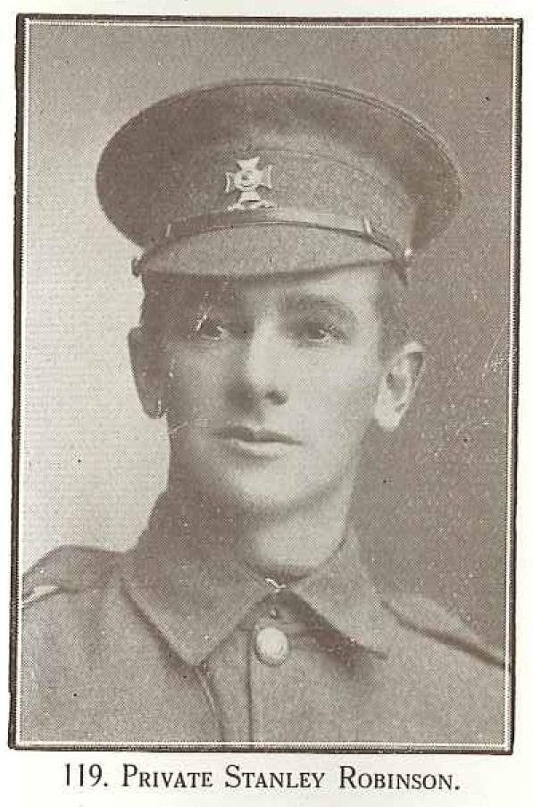 Private Stanley Robinson