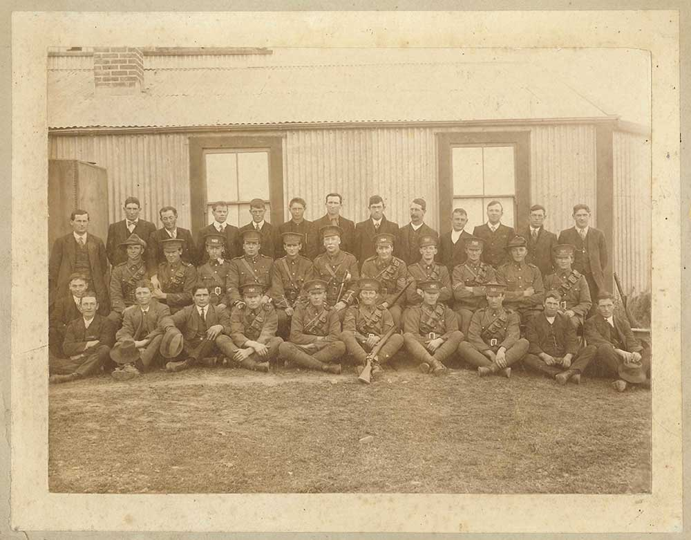 Waimate volunteers for the Main Body, 1914