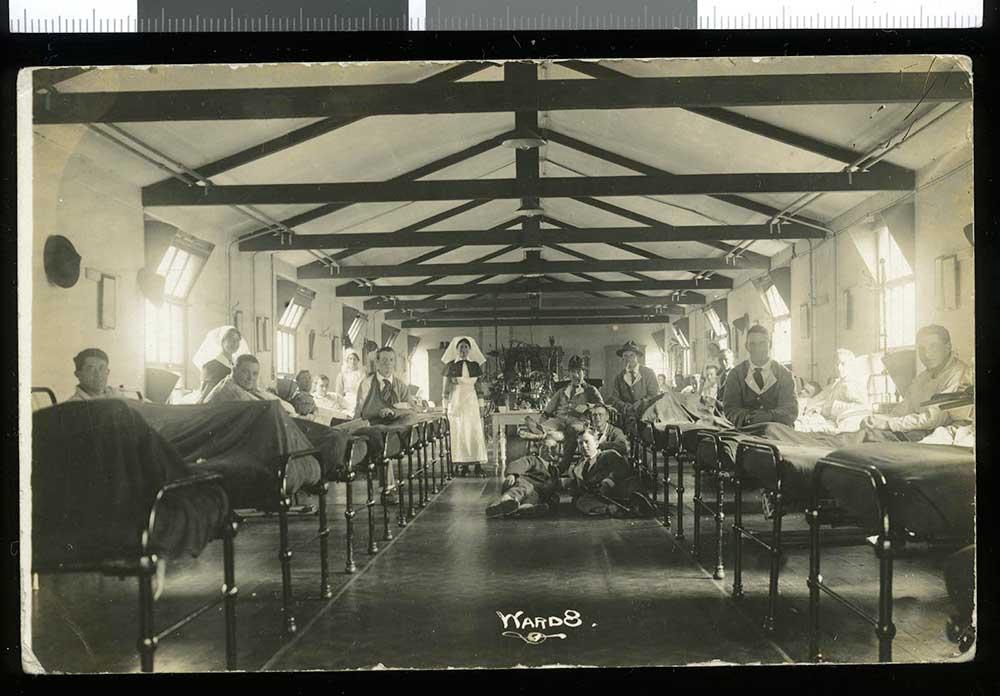 Ward 8, No.1 New Zealand General Hospital at Brockenhurst, England