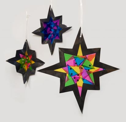 Make a hanging star