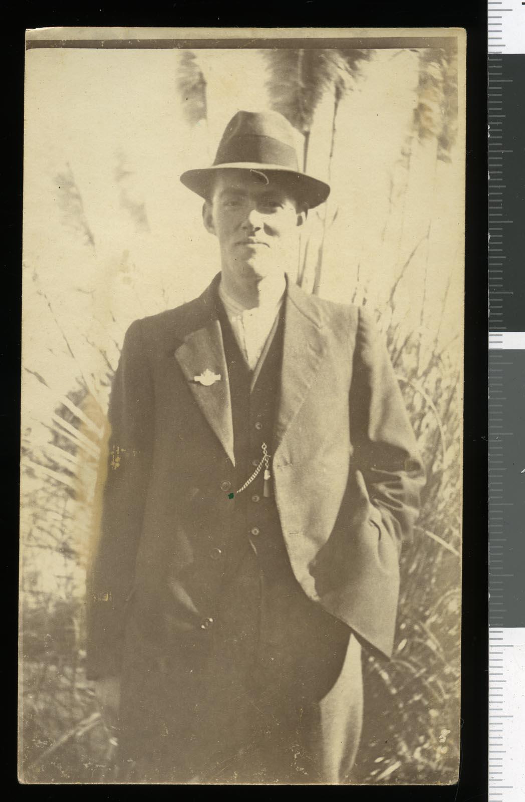 Frank Prestidge, circa 1916