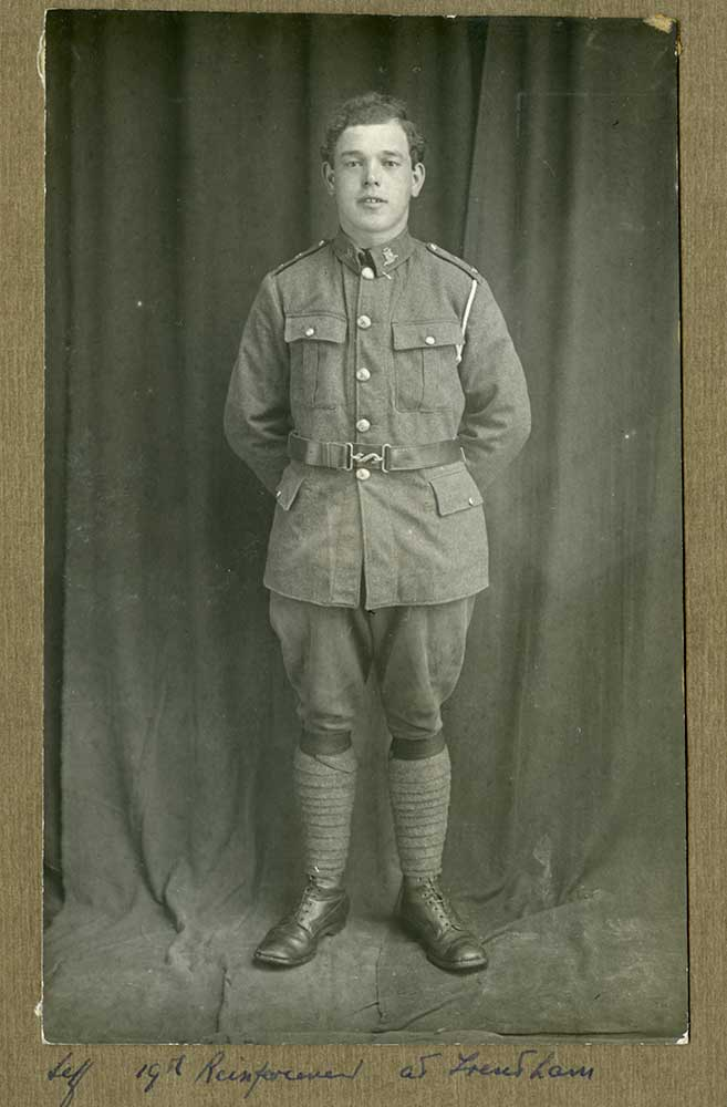 Duncan Menzies, circa 1916
