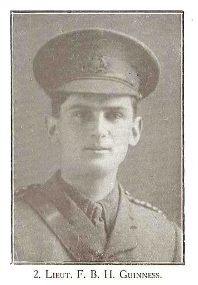 Lieutenant F B H Guinness