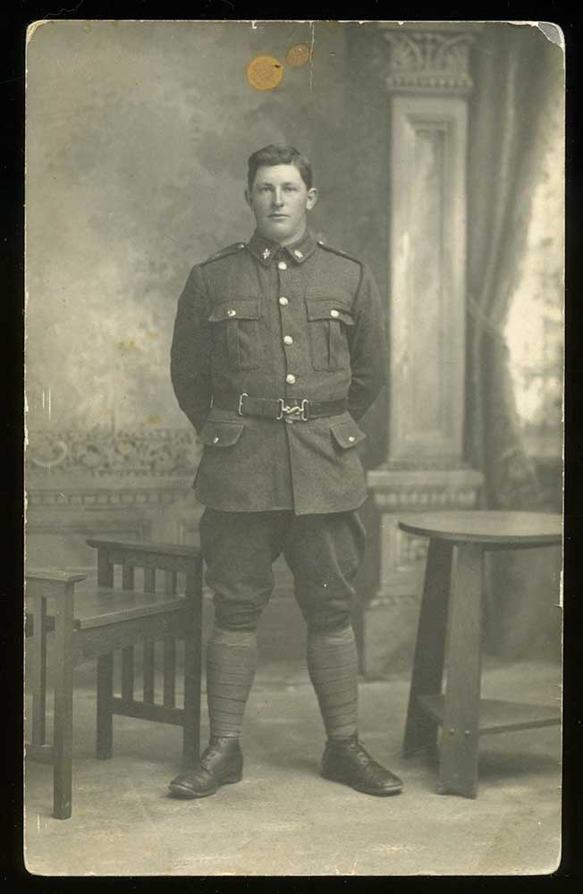 William Richard Pearce of Orari, taken in 1916.
