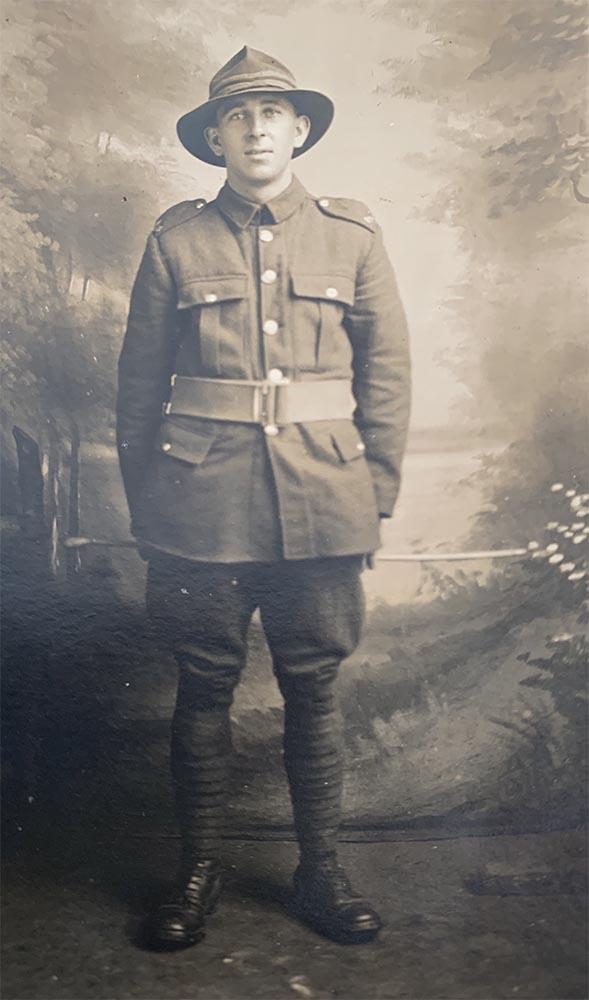 Harry Wilson. circa 1918