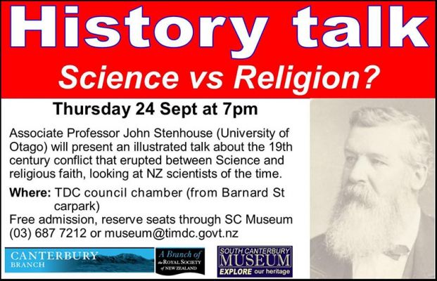 Talk: Science vs Religion