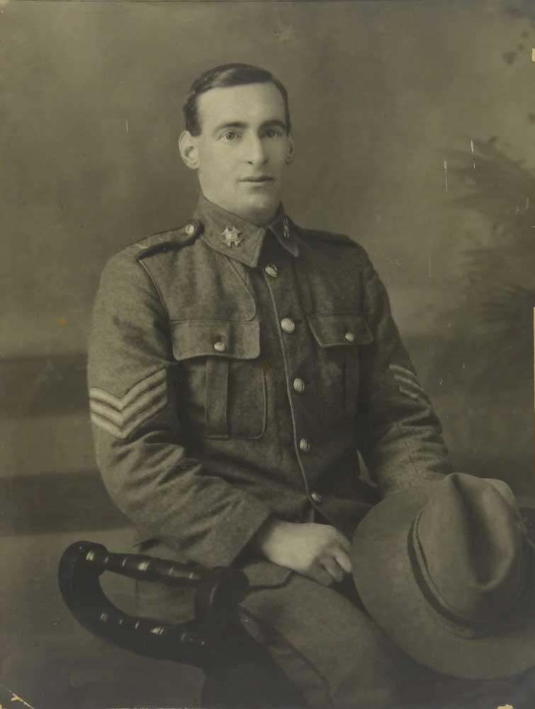Sergeant Alex Bennington