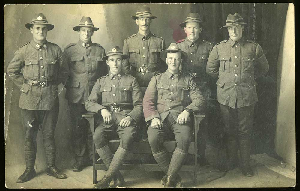 Mackenzie County soldiers, 1917