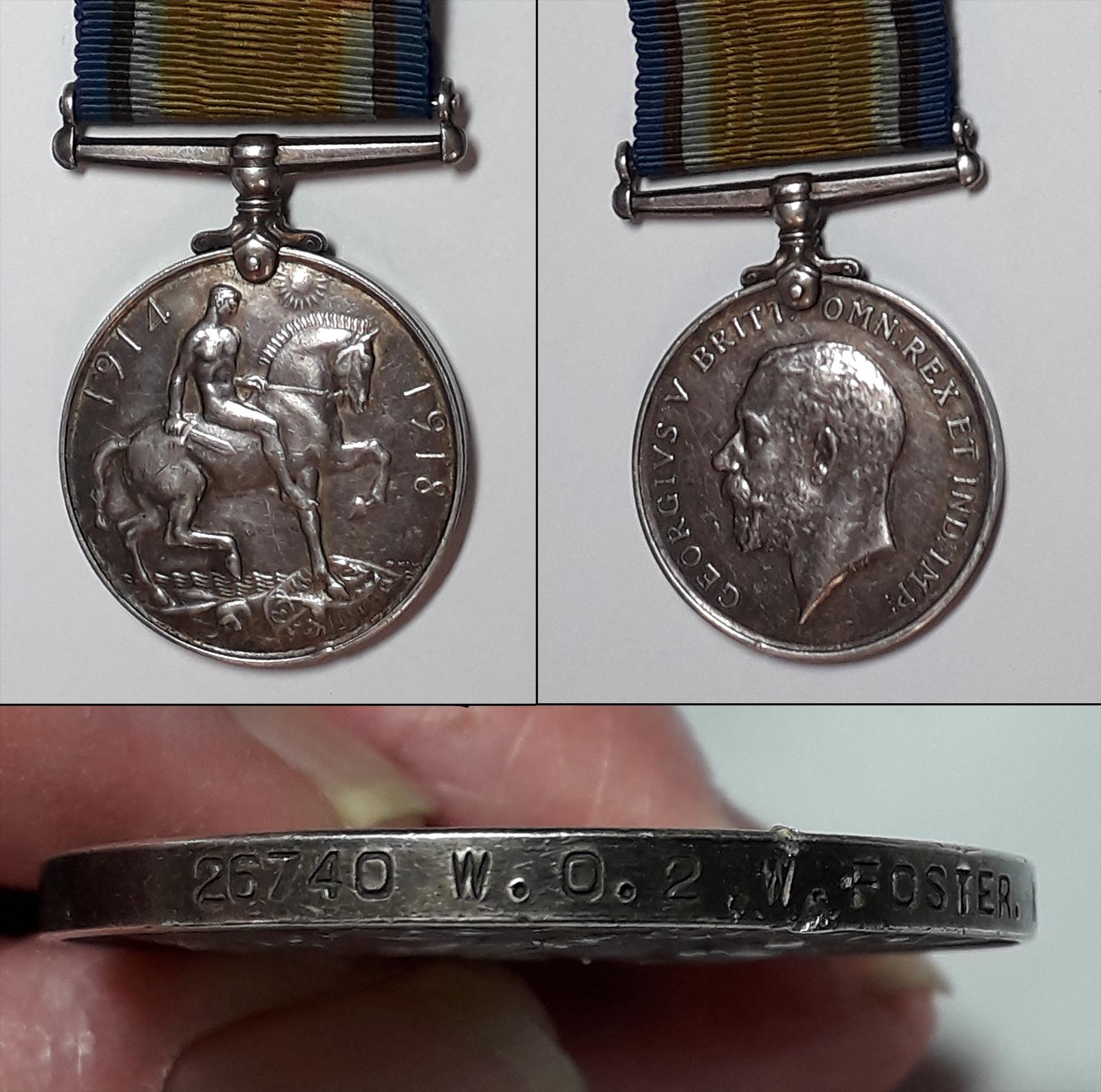 William Foster's British War Medal