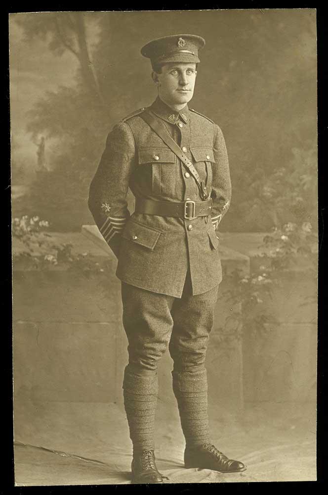Sergeant Leonard Hanan