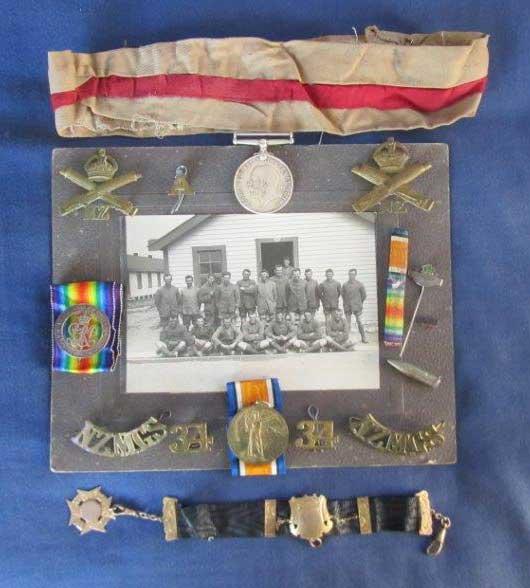 Alex Ross - medals and badges