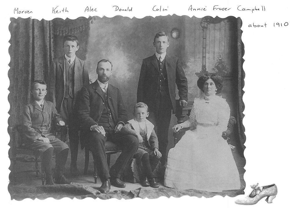 Colin Campbell & family, circa 1910