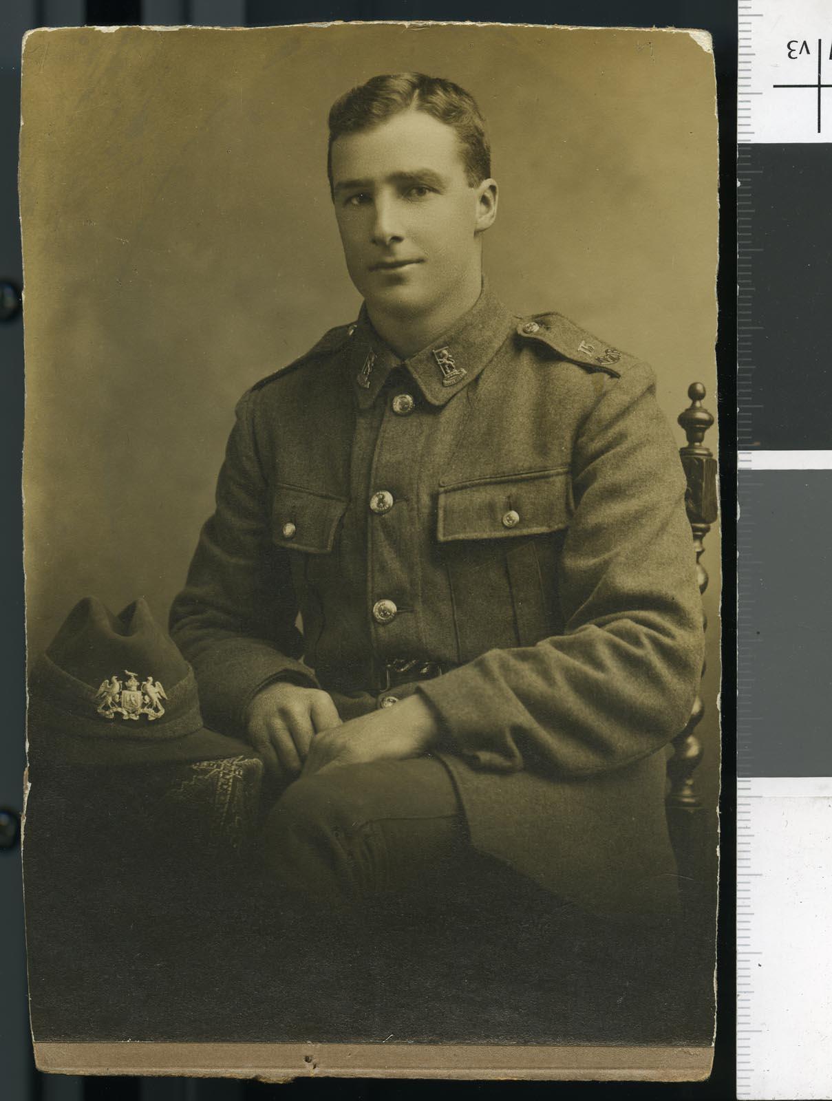 Silas George Ellery, circa 1916-1917