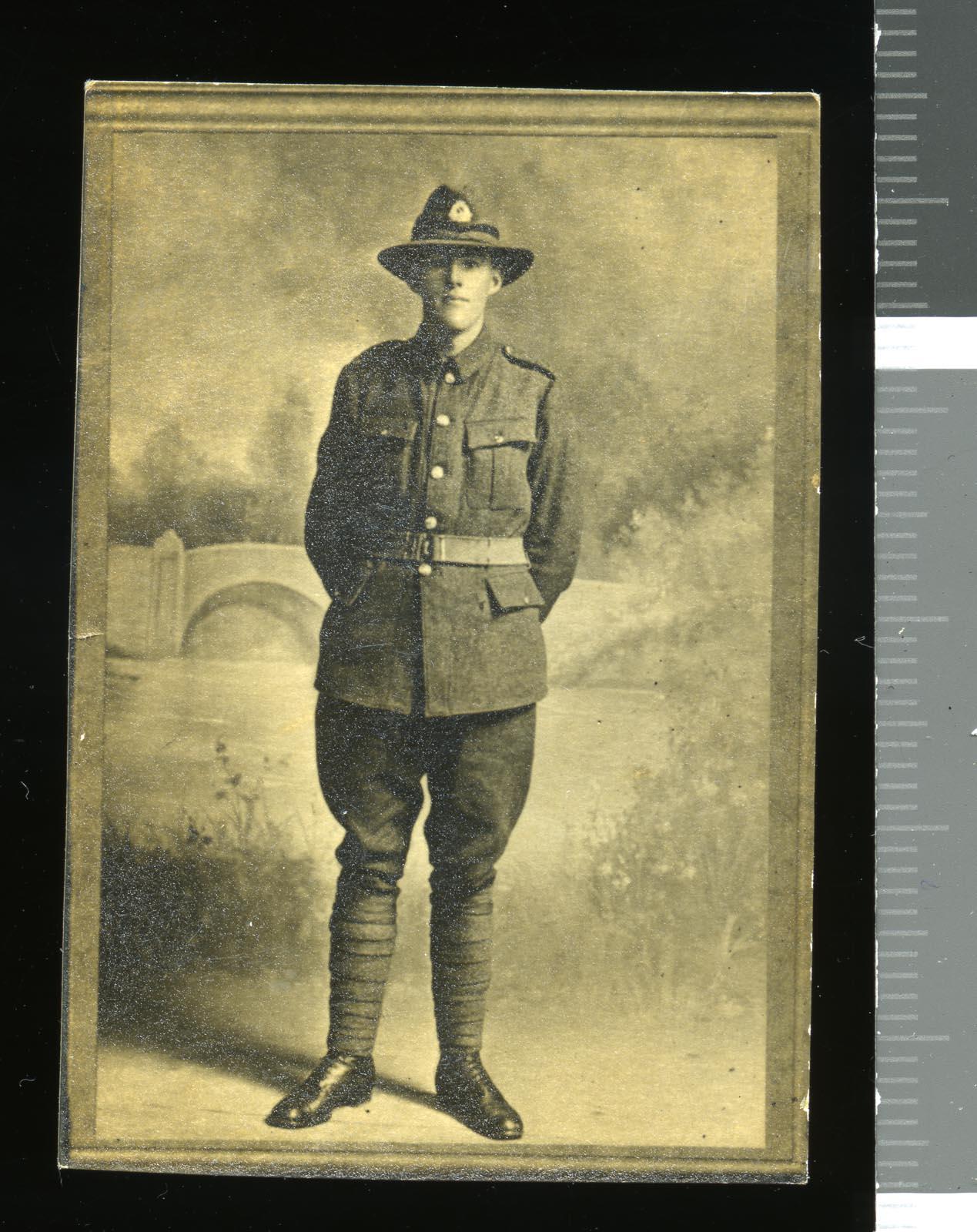 Frank Prestidge (service no. 34727), circa 1916