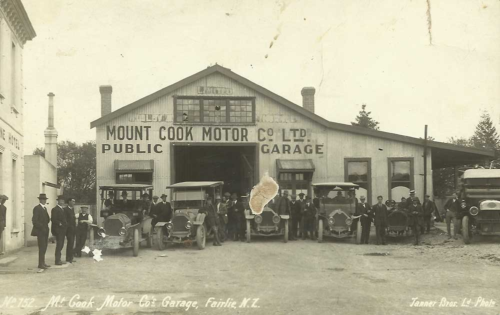 Mt Cook Motor Co Garage, Fairlie