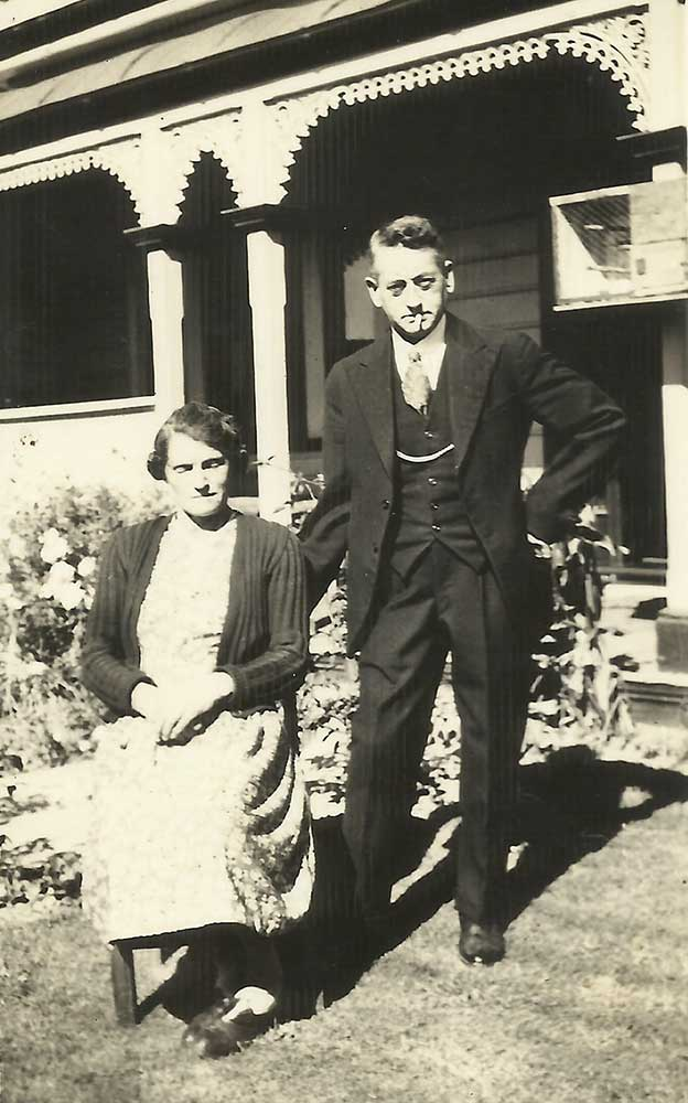 Tom & Dot Finch, circa 1945