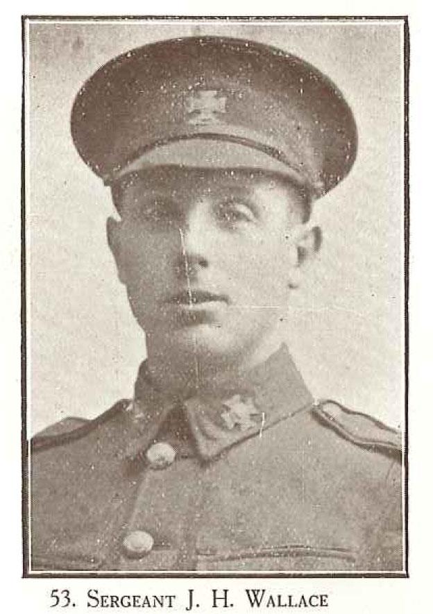 Sergeant J H Wallace