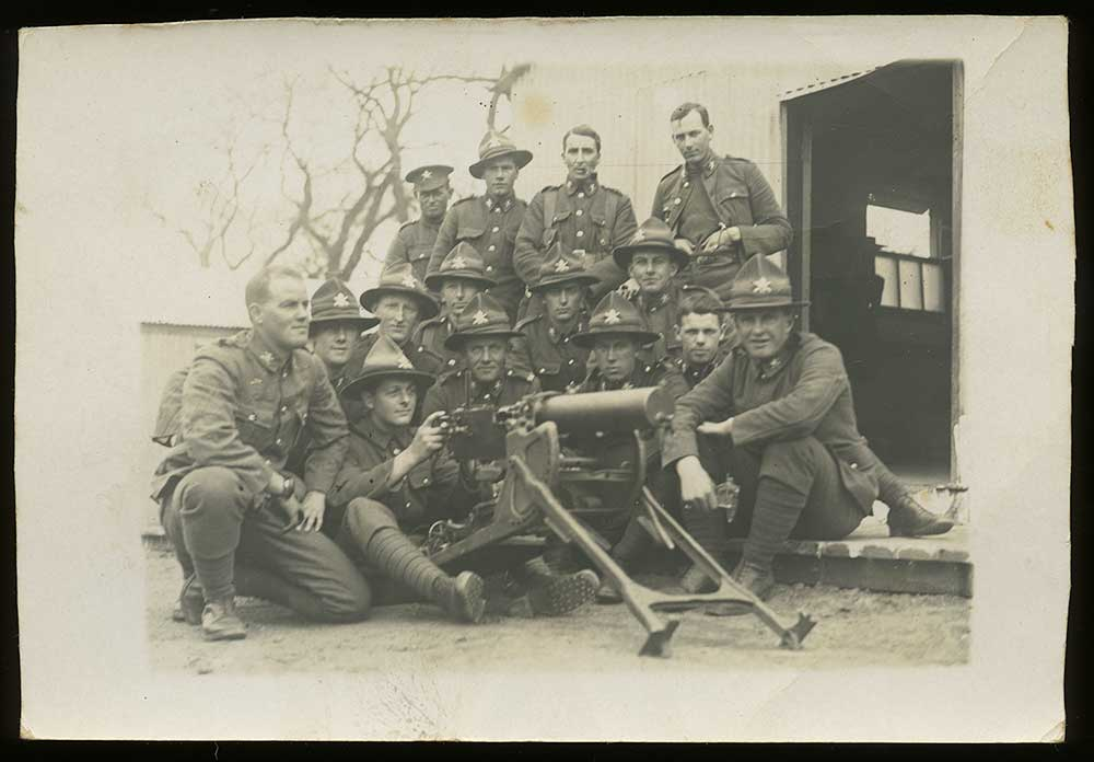 34th Specialist Company, NZ Machine Gun Corps, circa 1917