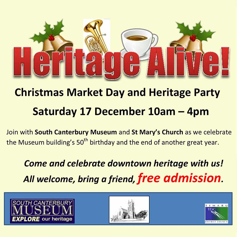 Christmas Market Day and Heritage Party