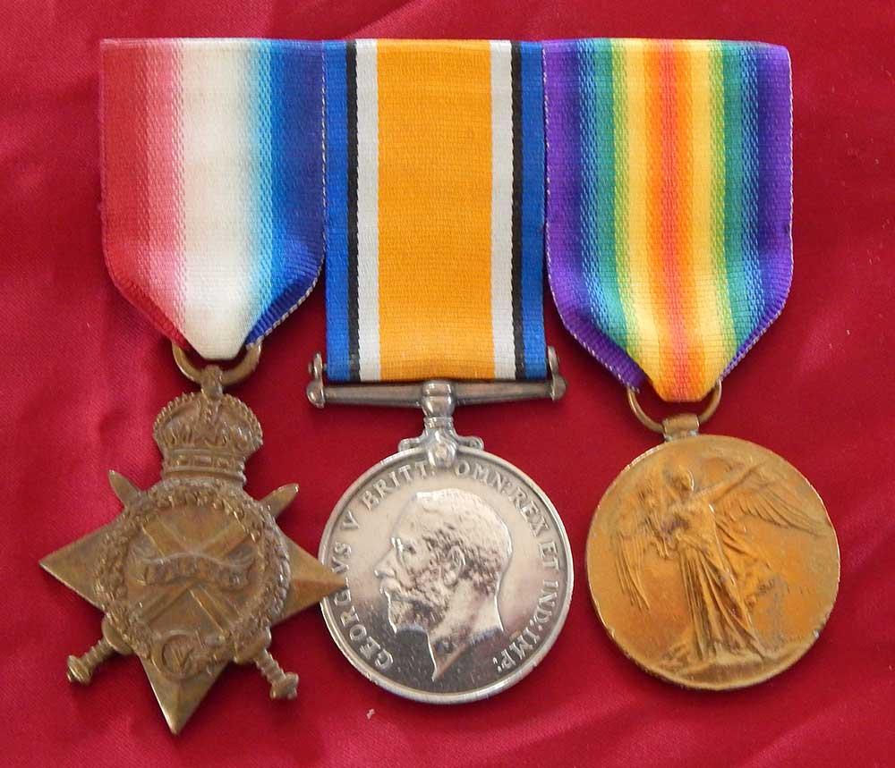 Gordon Christopher Horsman, service medals