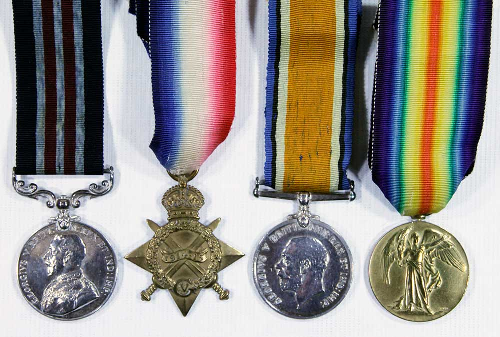 Medal set, William Bernard Bowles