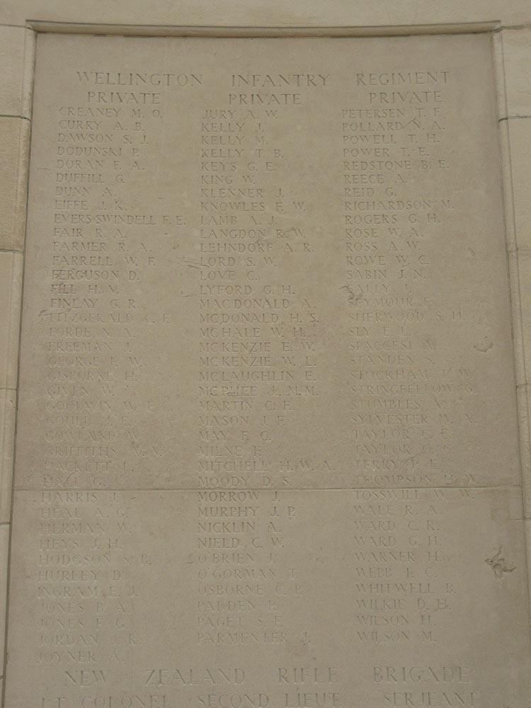 Albert Stumbles - Tyne Cot Memorial