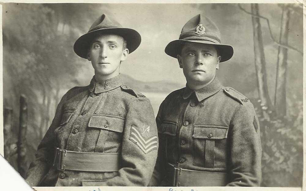 Bill Merry (left) & Cecil Averis
