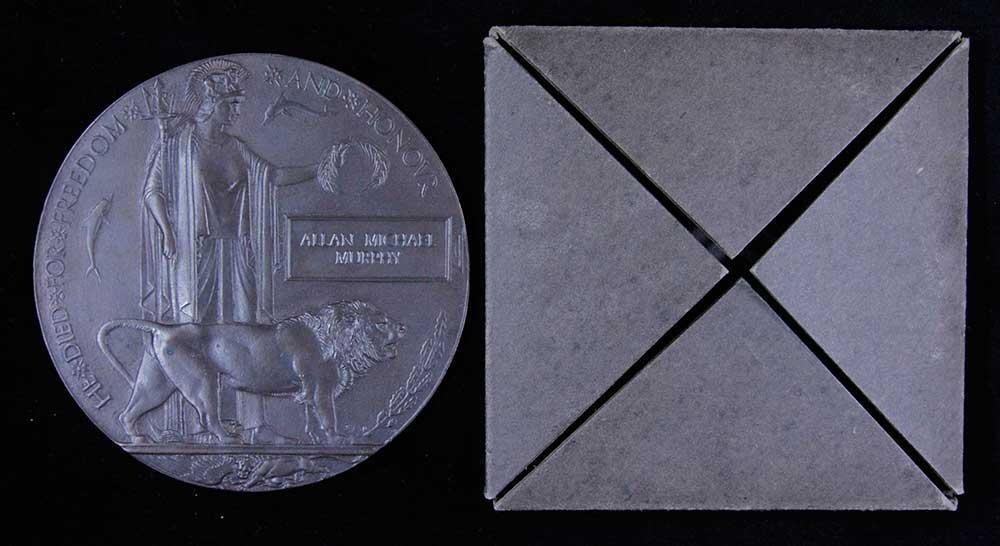 Memorial plaque, Allan Michael Murphy
