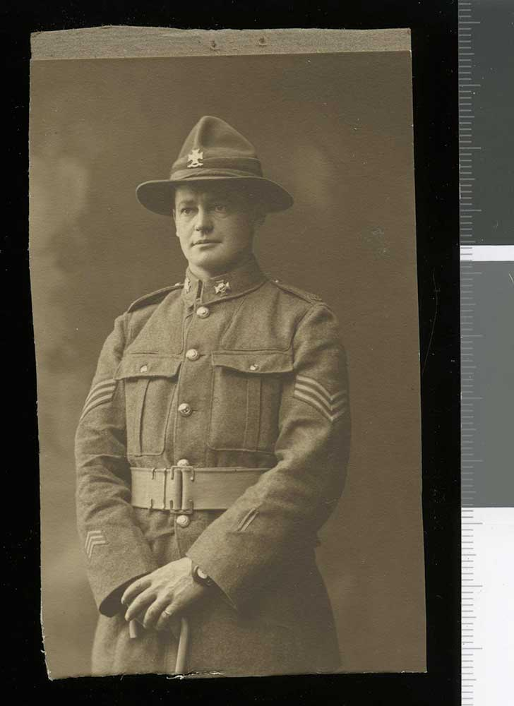 Sergeant Cuthbert (Bert) Leslie Williams