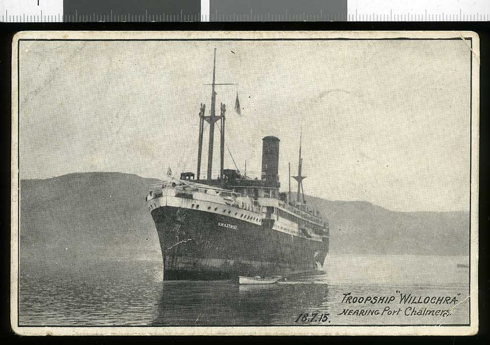 The troopship
