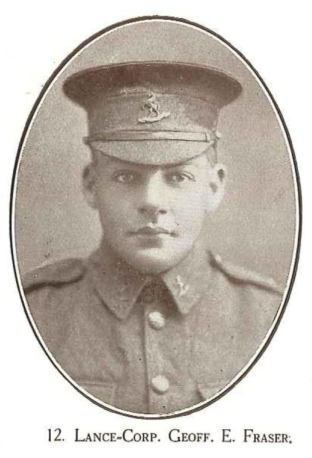 Lance Corporal Geoff E Fraser