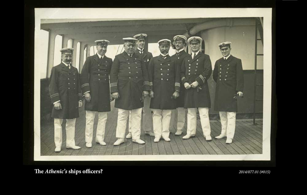 The Athenic's officers