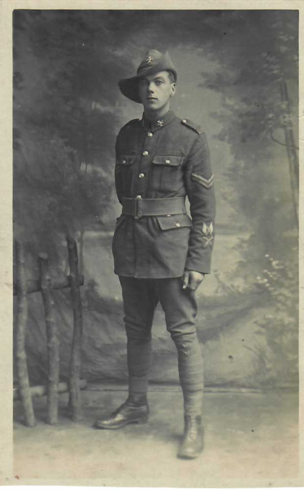 Edward Harold Beaumont, circa 1916-1917