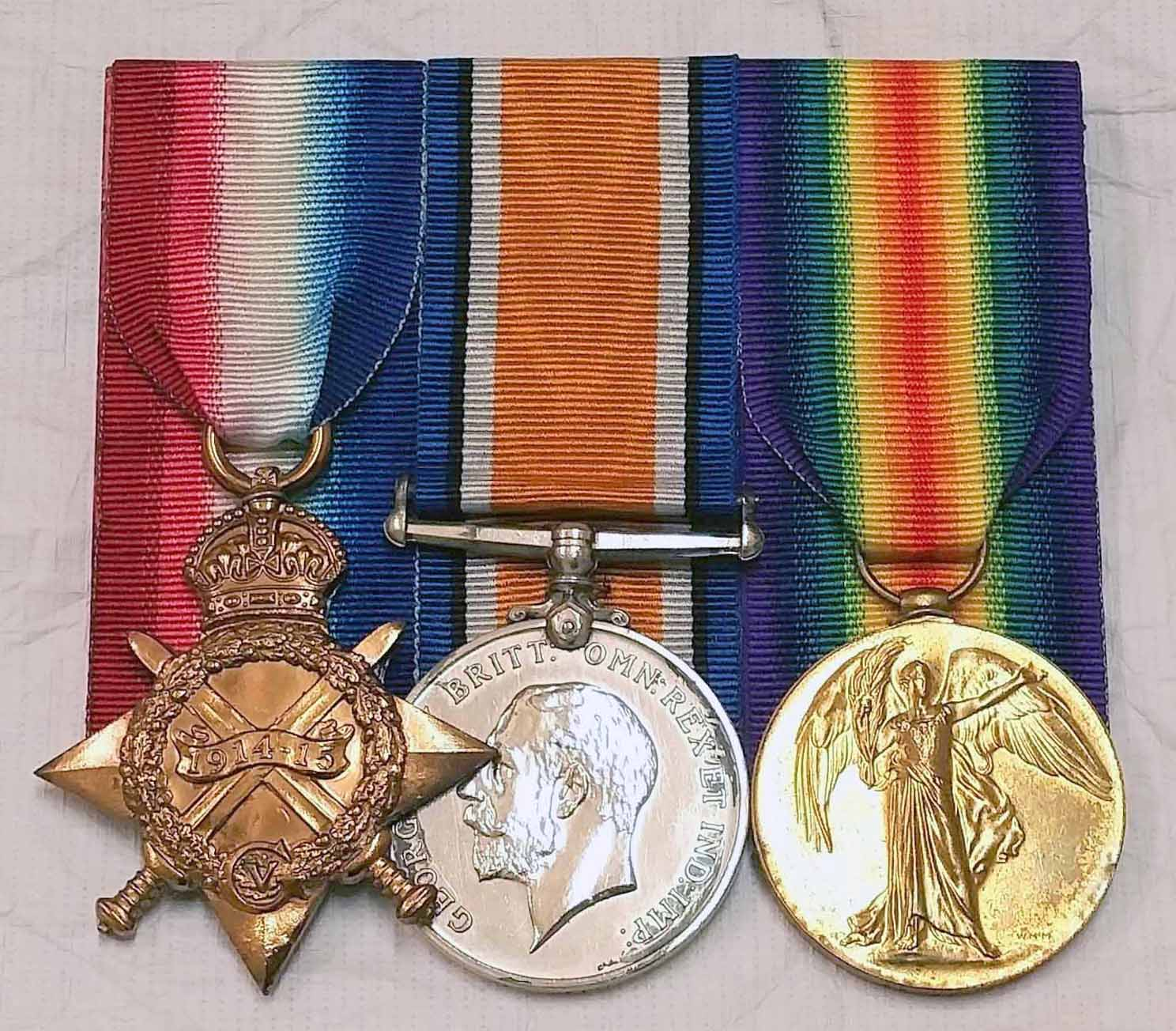 Robert Smith (6/545), medal group, World War One