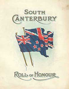 South Canterbury Roll of Honour, 1916