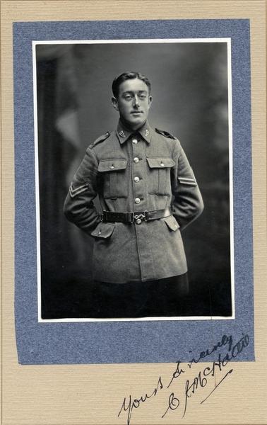 Cpl Clarence John McHattie