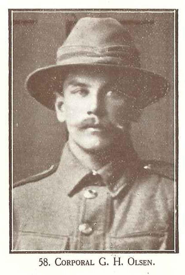 Corporal G H Olsen