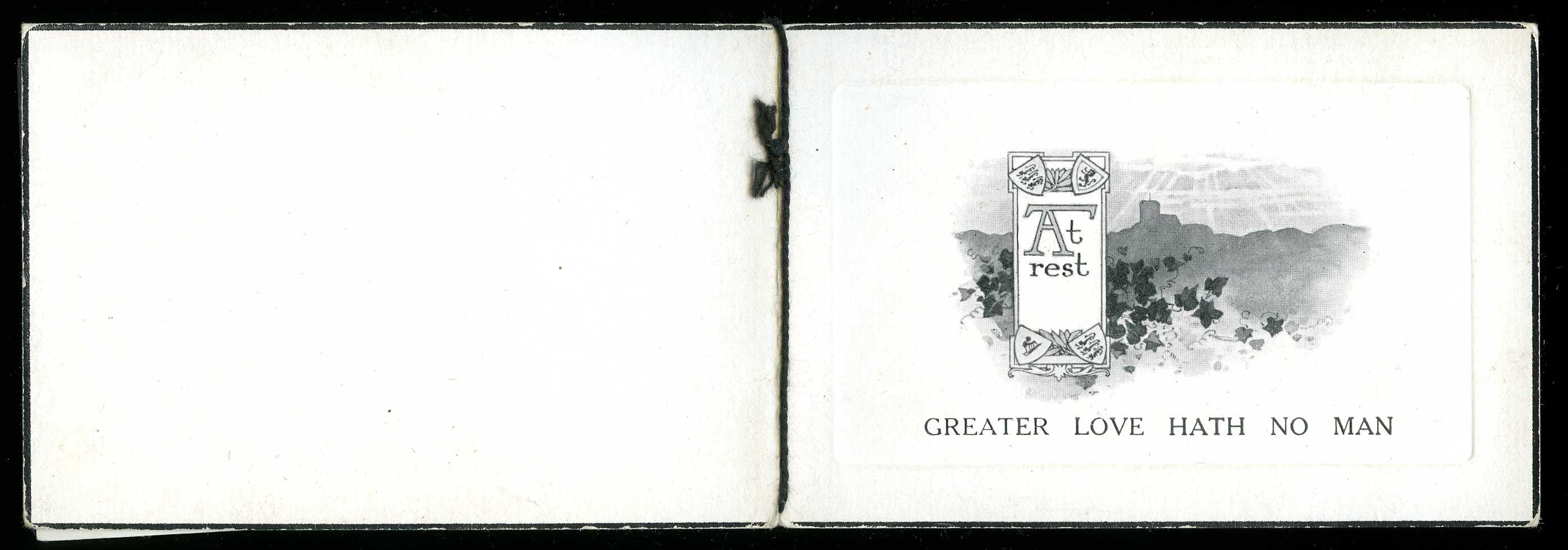 Memorial card (exterior)