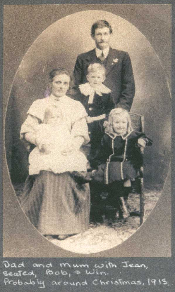 William Henry Mills and family